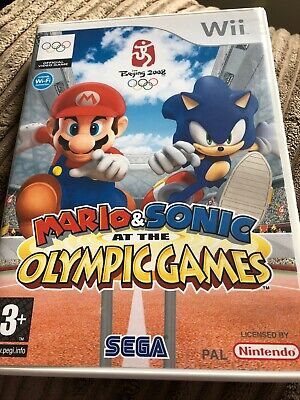 Mario & Sonic at the Olympic Games Wii Game