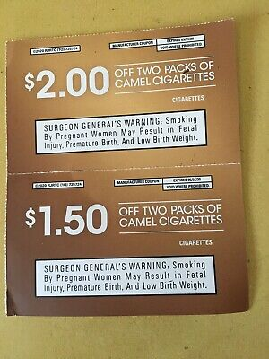 $3.50 Worth Of Camel Coupons