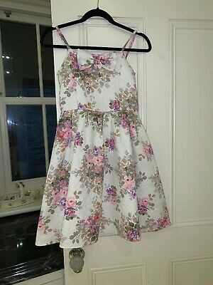 Monsoon Kids Floral Dress age 11 Years Gorgeous Design