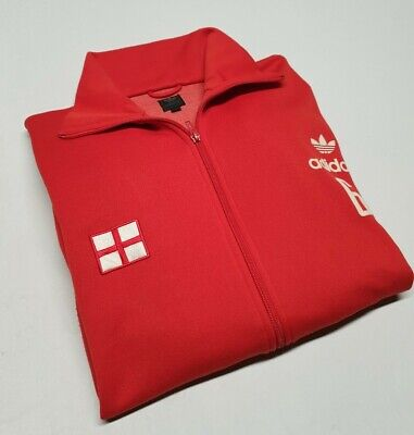 ⚡Genuine⚡Mens ADIDAS ENGLAND Casuals TrackSuit Top Track Jacket  SIZE XL Large