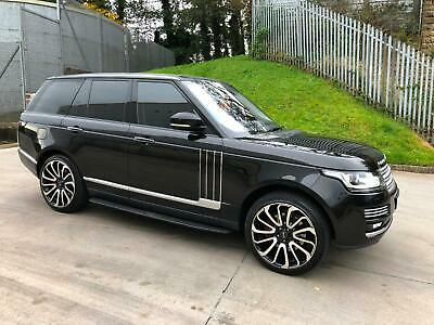 2014 14 Reg Land Rover Range Rover Vogue Autobiography 3.0 Td V6 Black Top Spec