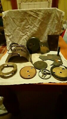 Miscellaneous Old Clock Parts