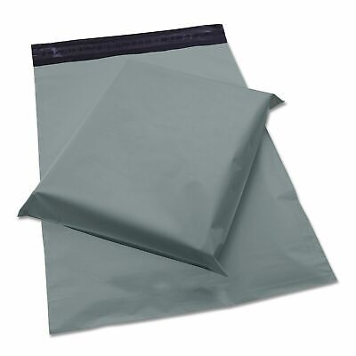 500X Strong Grey Opaque Self Seal Mailing Bag Postal Sacks Mail Post Recyclable