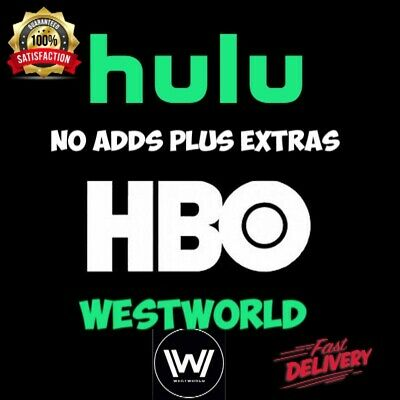🔥Hulu Premium + HBO + No Ads🔥 | 1 Year Warranty |One Time Pay | SALE❗