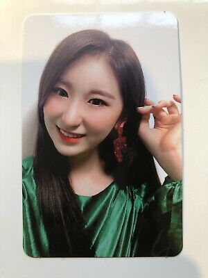 IZONE BLOOMIZ I*AM version CHAEYEON photocard Kpop Official