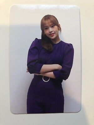 IZONE BLOOMIZ I*AM version YUJIN photocard Kpop Official