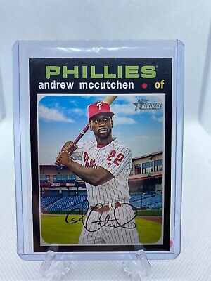 Andrew McCutchen 2020 Topps Heritage High Number # 456 SP