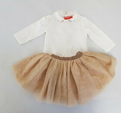 **BNWT** REDUCED TO CLEAR ~ DORA the EXPLORER WHITE SKIRT AGE 2-3 yrs
