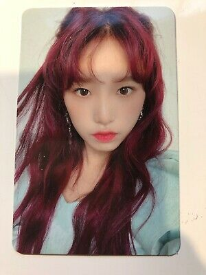 IZONE BLOOMIZ I*WAS version YENA photocard Kpop Official