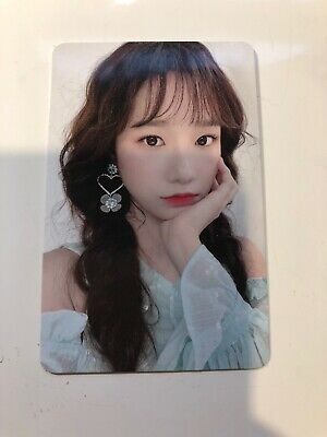 IZONE BLOOMIZ I*WAS version YURI photocard Kpop Official