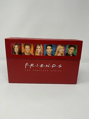 Friends The Complete Series DVD Box Set Collection 2006 40-Disc w Booklet