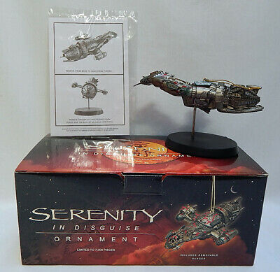 Very Nice Limited Edition Serenity In Disguise Firefly Ornament (J)