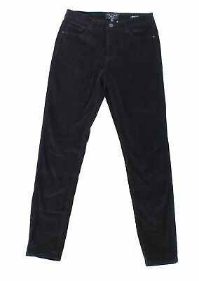 Sanctuary Women's Pants Black Size 8 Corduroys Social Skinny Stretch $80 #045