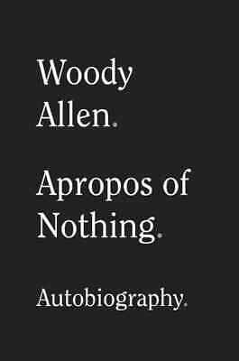 Apropos of Nothing ⚡digital book⚡