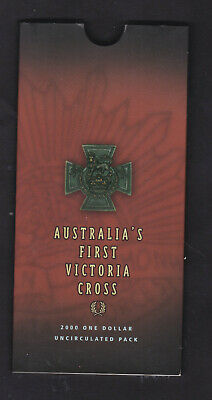 RAM 2000 Uncirculated Victoria Cross $1 coin