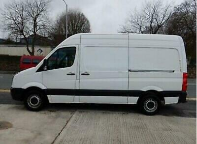 Vw Crafter Cr35 Tdi 2014 August 86K Miles Shell V5 I D Tags