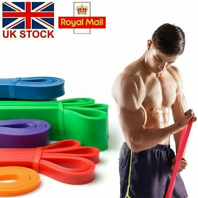 3 Level Resistance Bands Exercise Loop Crossfit Heavy Duty Training Expand Band