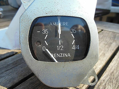 Lancia Flavia2000 LX Berlina Tank and Accu Charge instrument cluster