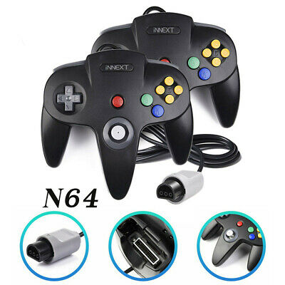 Wired Game Console Gamepad Joystick Joypad For Nintendo 64 N64 Controller Gift