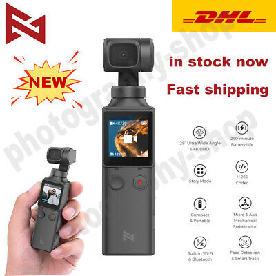 New Xiaomi FIMI PALM 3 Axis 4K HD Handheld Gimbal Camera Stabilizer 128° Angle