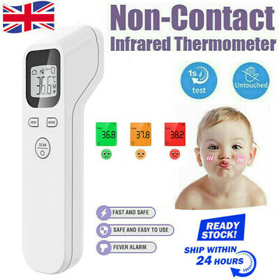 Digital Termometer IR Infrared Non-Contact Forehead Baby/Adult Body Thermometer