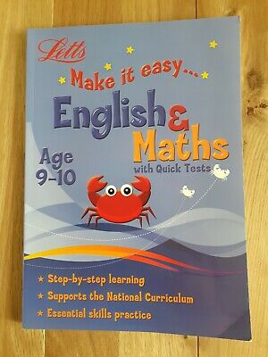 Letts make it easy Maths And English Workbook For Age 9-10