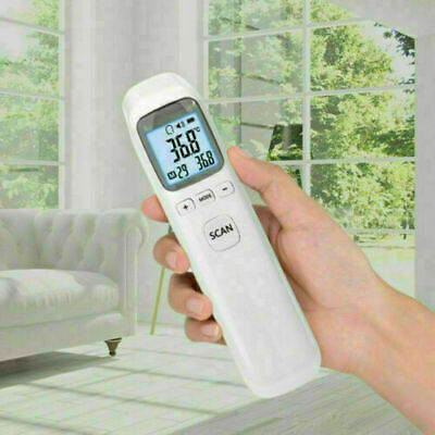 Hot Batteryless Infrared Electronic Thermometer LCD Non-Contact Digital Infrared