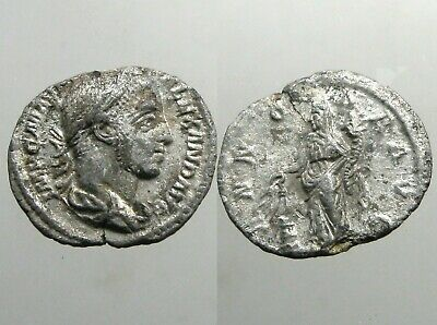 SEVERUS ALEXANDER SILVER DENARIUS____Roman Imperial_____MURDERED WITH HIS MOTHER