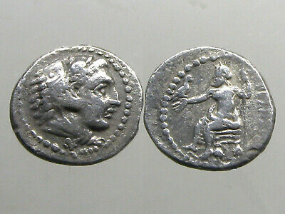 ALEXANDER III THE GREAT OF MACEDONIA______AR HEMIDRACHM_____Undefeated in Battle