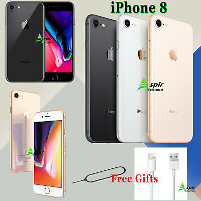 Apple iPhone 8 Smartphone 64GB Unlocked SIM Free Various Colours Grades Gold UK