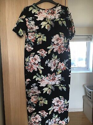 Boohoo Maternity Size 14 Dress. Work Once. Excellent Condition
