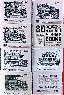 Great Britain - Sixteen Stitched Booklets