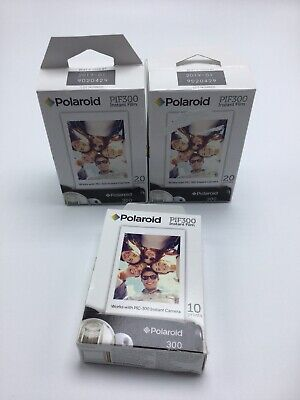 Polaroid PIF300 Instant Film -50 prints BRAND NEW SEALED EXP 11/18~01/19