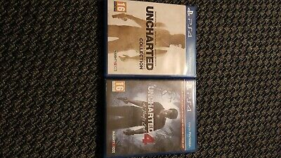 Uncharted 4 A Thief's End For PS4 + Uncharted Nathan Drake Collection