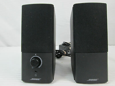 Bose Companion 2 series III computer speakers black (670)