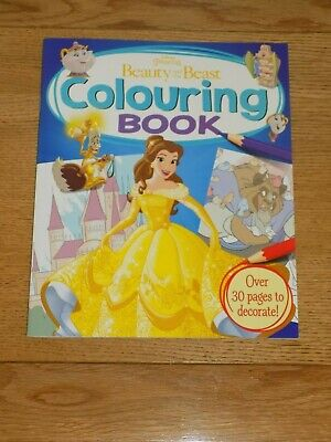 Disney Princess Beauty & The Beast Colouring Book - BRAND NEW