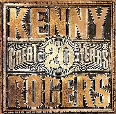 Kenny Rogers 20 Great Years New/Sealed Cassette 10 Classics Gambler Lady Ruby
