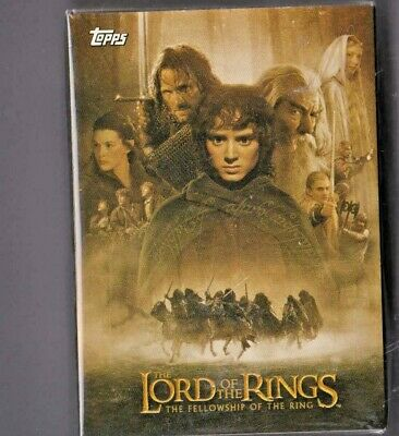 Lord of the Rings Topps Trading Cards  Fellowship of the Ring - Starter set