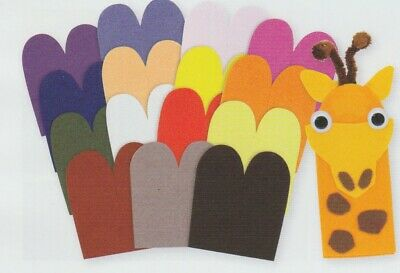 Finger puppet KIDS  CRAFT PACK - Makes 6
