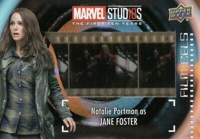 Marvel The First Ten (10) Years - Natalie Portman As J.Foster Film Cels Card FC7