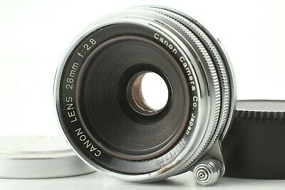 [ Excellent+4 ] Canon 28mm f/2.8 LTM L39 Leica Screw mount Lens from japan #115