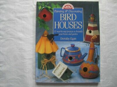 BIRD HOUSES step by step projects S/C G/C 1997