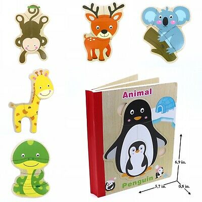 Educational Book Toy for Toddlers Baby Kids Children / Animals
