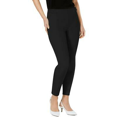 Alfani Womens Black Skinny Business Officewear Ankle Pants 14 BHFO 1551