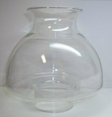 """HURRICANE STYLE OR COLONIAL CHIMNEY RED GLASS 1 5//8/"""" NEW OLD STOCK"""