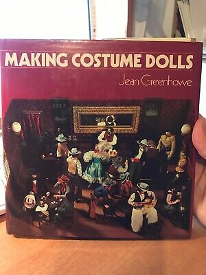 craft book by Jean Greenhowe - MAKING COSTUME DOLLS