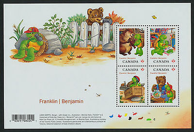 Canada 2541 MNH Franklin the Turtle, Animals, Cartoons