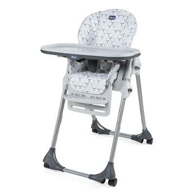 Chicco Polly Easy Highchair 4Wheel (Verdant) - Multiple Heights