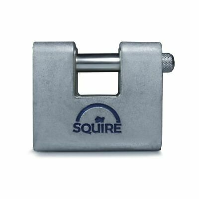 SQUIRE ASWL1 HARDENED STEEL SHUTTER LOCK  ARMOURED 60mm GATES PADLOCK
