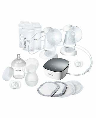 Nuby Breastfeeding Bundle | Electric & Manual Breast Pumps, Bottle, Pads & More